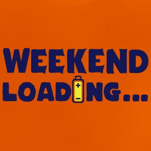 weekend_loading quote drums battery Shirts - Baby T-Shirt