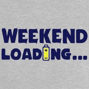 weekend_loading quote drums battery Camisetas - Camiseta bebé