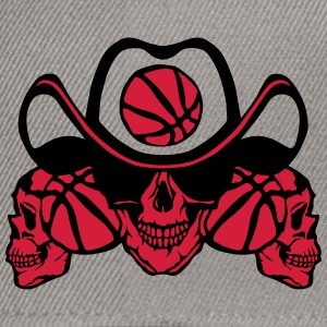 Basketball skull sign chain T-Shirts - Snapback Cap