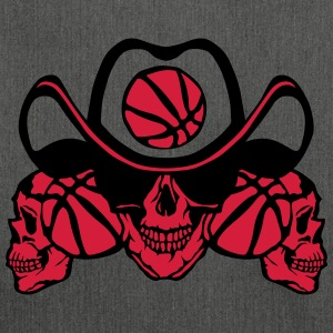 Basketball skull sign chain T-Shirts - Shoulder Bag made from recycled material