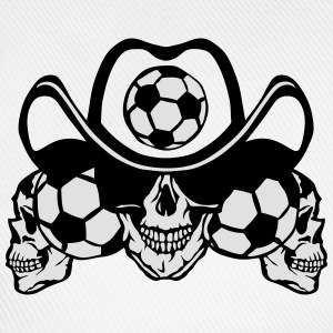 soccer Skull sign chain Long sleeve shirts - Baseball Cap