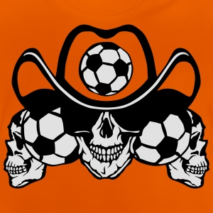 soccer Skull sign chain Shirts - Baby T-Shirt
