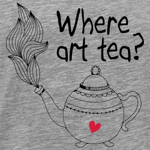 where art tea 2c Tops - Men's Premium T-Shirt