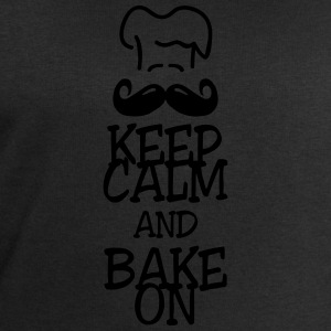 keep calm and bake on T-Shirts - Men's Sweatshirt by Stanley & Stella