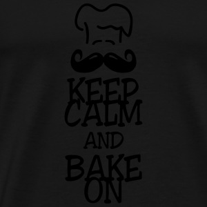 keep calm and bake on Tops - Men's Premium T-Shirt