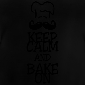 keep calm and bake on T-shirts - Baby T-shirt