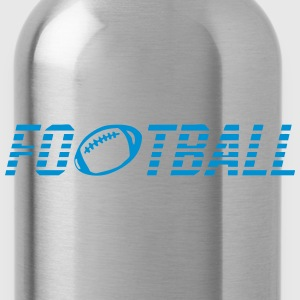 Word football ball T-Shirts - Water Bottle