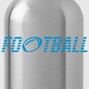 Word football ball Shirts - Water Bottle