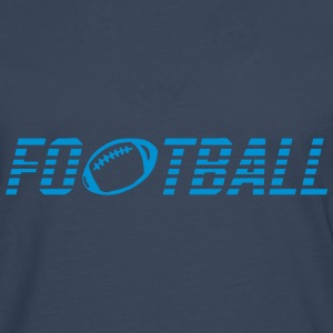 Word football ball Shirts - Men's Premium Longsleeve Shirt