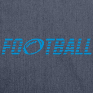 Word football ball Shirts - Shoulder Bag made from recycled material