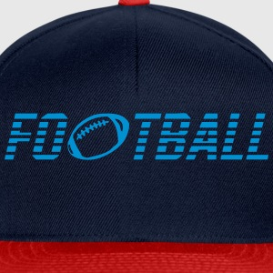 Word football ball Long Sleeve Shirts - Snapback Cap
