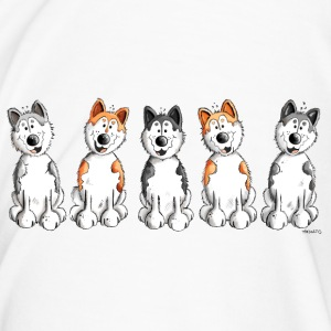 Funny Huskies Mugs & Drinkware - Men's Premium T-Shirt