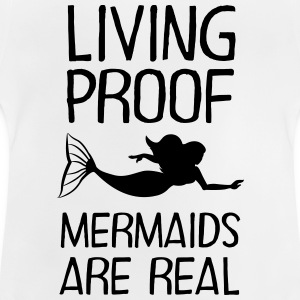 Living Proof - Mermaids Are Real Shirts met lange mouwen - Baby T-shirt