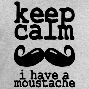 keep calm i have  a moustache Tee shirts - Sweat-shirt Homme Stanley & Stella