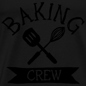 baking crew mixer Tops - Men's Premium T-Shirt