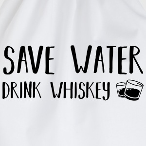 Save water - Drink Whisky T-Shirts - Turnbeutel