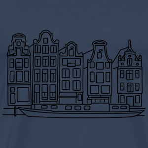 Amsterdam Canal houses Other - Men's Premium T-Shirt