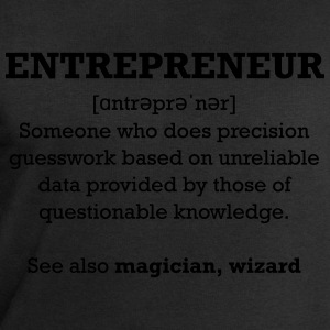 Entrepreneur - wizard T-Shirts - Men's Sweatshirt by Stanley & Stella