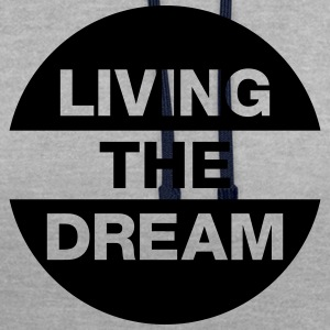 Living The Dream Tee shirts - Sweat-shirt contraste