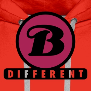 b_different_a_2c  Aprons - Men's Premium Hoodie