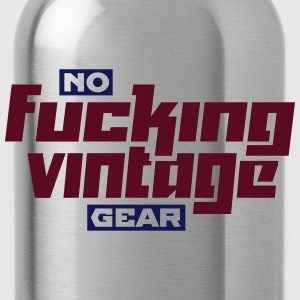 No Fucking Vintage Gear - Water Bottle