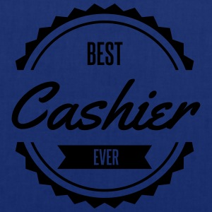 best cashier caissier Tabliers - Tote Bag