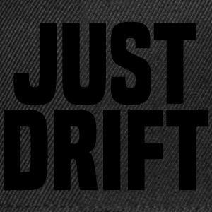 Just Drift T-Shirts - Snapback Cap