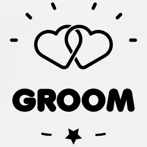 GROOM + HEART Mugs & Drinkware - Men's Premium T-Shirt