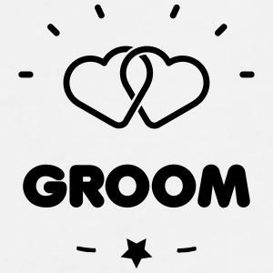 GROOM + HEART Caps & Hats - Men's Premium T-Shirt