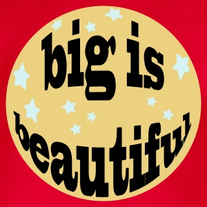 big is beautiful - Baby Bio-Kurzarm-Body