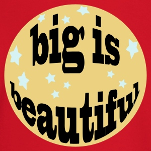 big is beautiful - Baby Langarmshirt