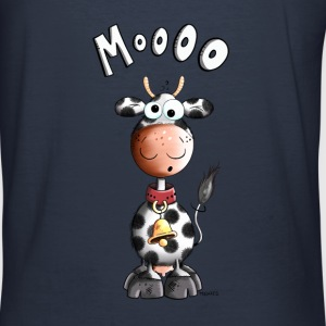 grappige Koe Sweaters - slim fit T-shirt