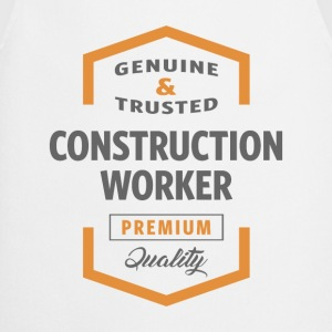 Construction Worker T-shirt - Cooking Apron