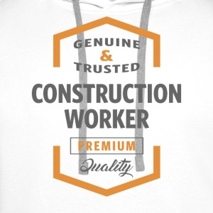 Construction Worker T-shirt - Men's Premium Hoodie