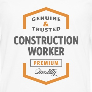 Construction Worker T-shirt - Men's Premium Longsleeve Shirt
