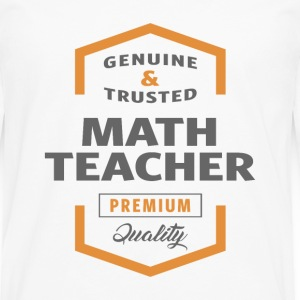 Math Teacher T-shirt - Men's Premium Longsleeve Shirt