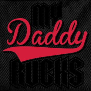 Daddy Rocks 2C T-Shirts - Kinder Rucksack