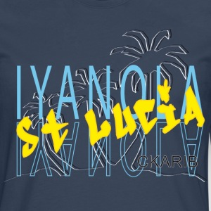 IYANOLA - T-shirt manches longues Premium Homme