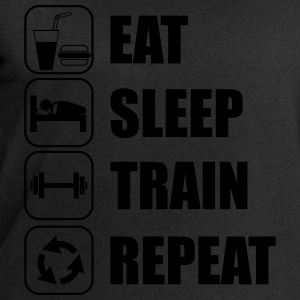 Eat,sleep,train,repeat Gym T-shirt - Men's Sweatshirt by Stanley & Stella