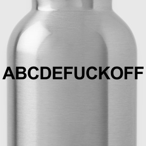 Abcdefuckoff T-Shirts - Water Bottle