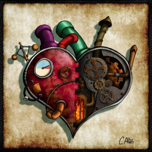 The Clockwork Heart T-Shirts - Kids' Backpack