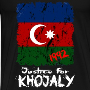 Justice for Khojaly Manches longues - T-shirt Premium Homme