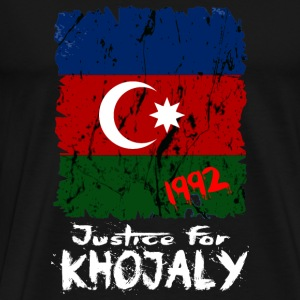 Justice for Khojaly Mugs & Drinkware - Men's Premium T-Shirt