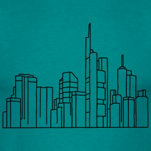 Frankfurt Skyline Hoodies & Sweatshirts - Men's T-Shirt