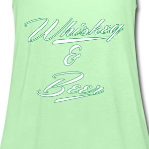 Whiskey And Beer St.Patricks Day T-Shirts - Women's Tank Top by Bella