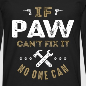 Paw Can Fix It T-shirt - Men's Premium Longsleeve Shirt
