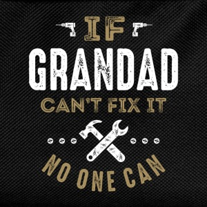 Grandad Can Fix It T-shirt  - Kids' Backpack