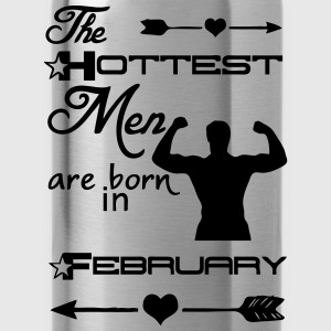 Hottest Men February T-Shirts - Water Bottle