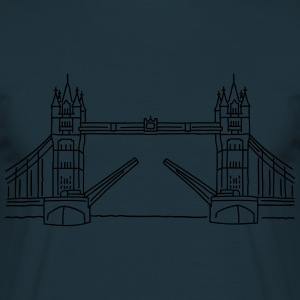 Londen Tower Bridge Sweaters - Mannen T-shirt