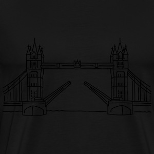 London Tower Bridge Langarmshirts - Männer Premium T-Shirt